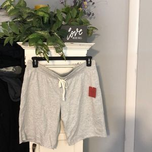 Lite gray sweat shorts